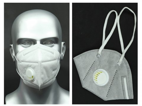 打磨工用防铝灰口罩