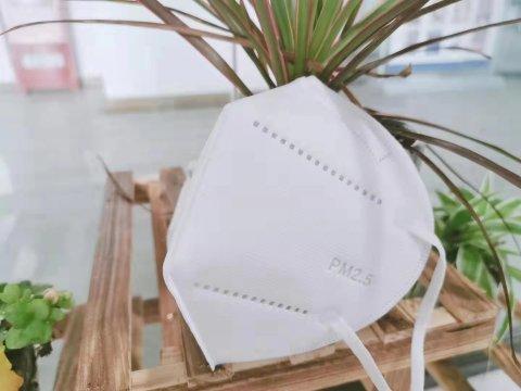防尘口罩折叠式PM2.5  白色