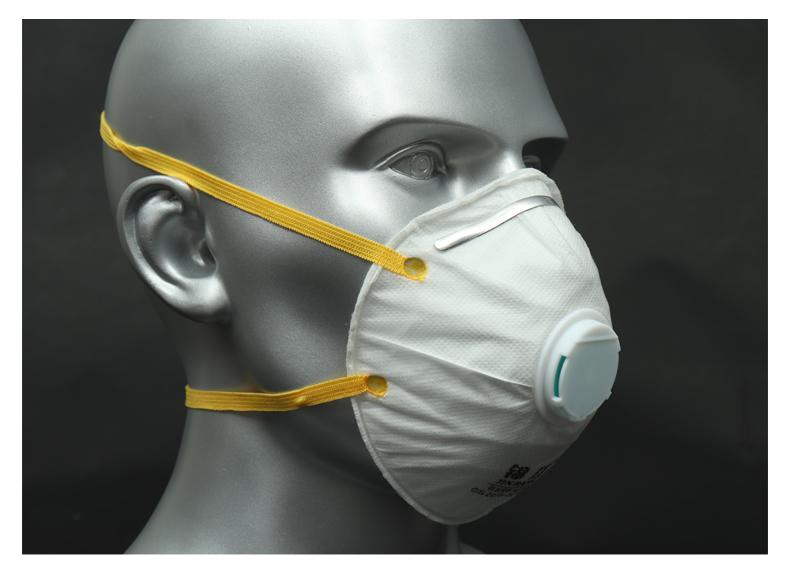 头戴式工业防尘口罩