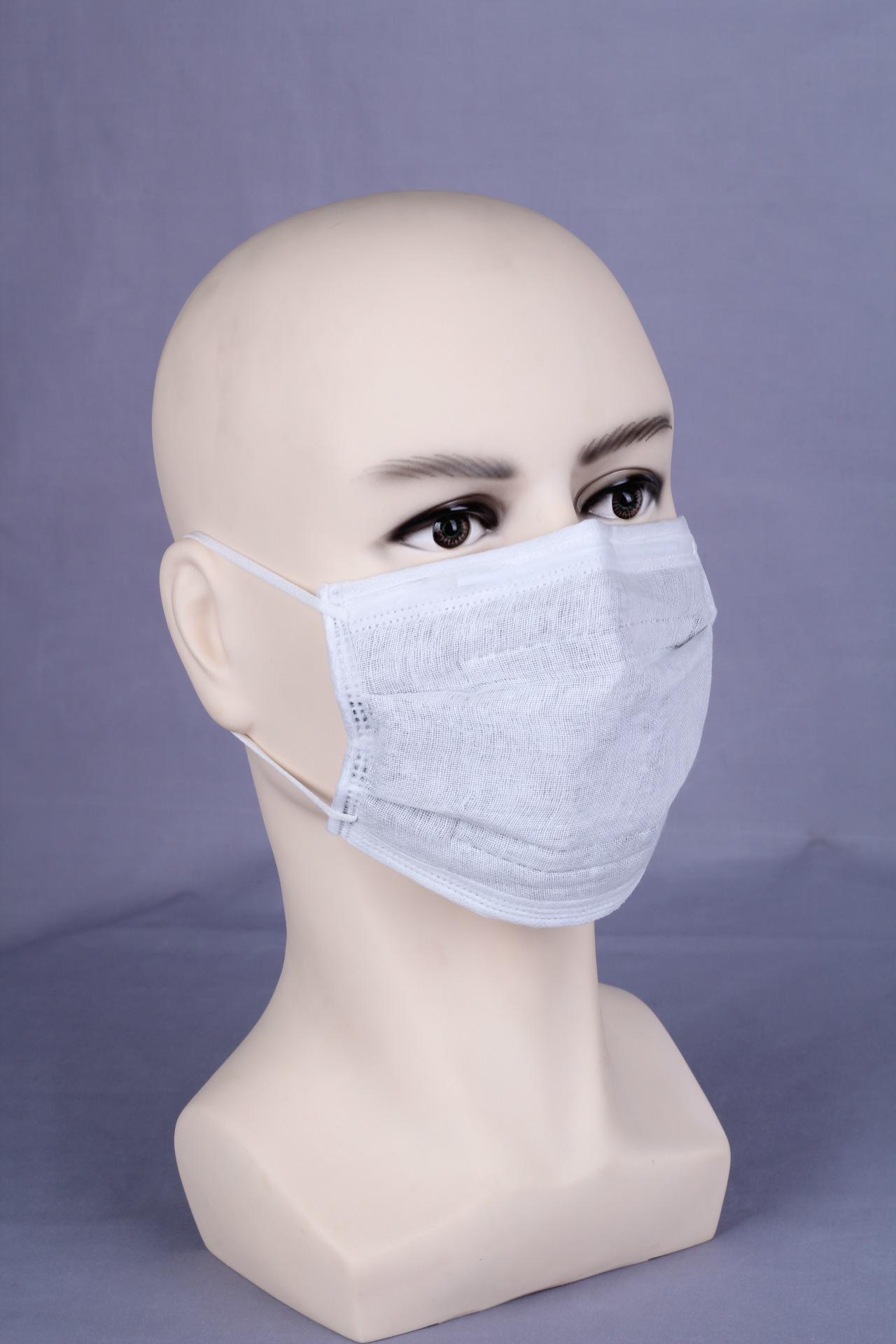 无纺布活性炭防异味防颗粒物一次性平面劳保防